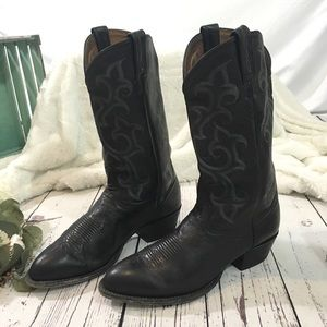 Tony lama El Paso leather cowboy boots